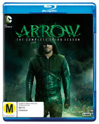 Arrow - The Complete Third Season on Blu-ray