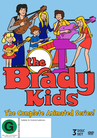 The Brady Kids on DVD