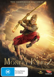 The Monkey King 2 on DVD
