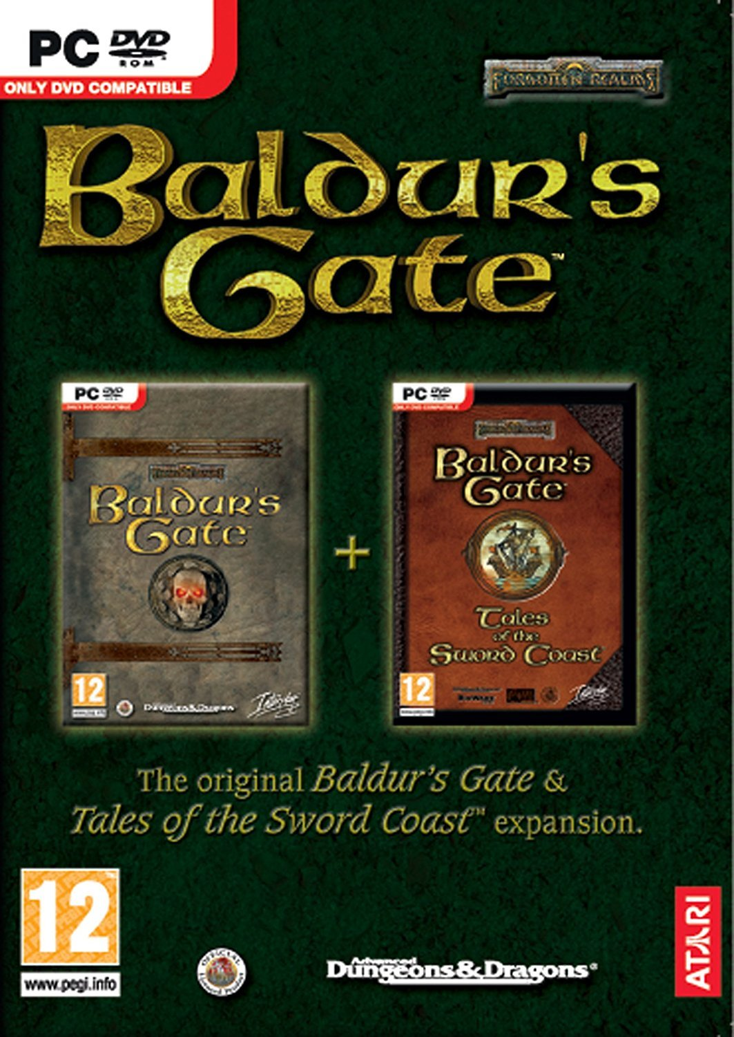 Baldur's Gate + Tales of the Sword Coast Expansion for PC Games image