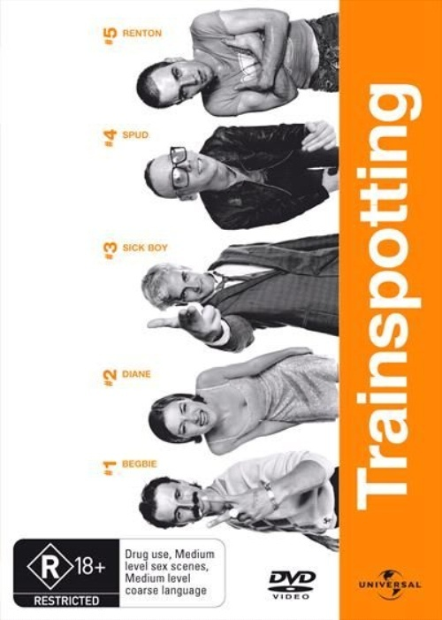 Trainspotting on DVD image