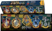 Harry Potter: 1000pc Crests Slim Puzzle