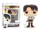 Attack on Titan - Cleaning Levi Pop! Vinyl Figure