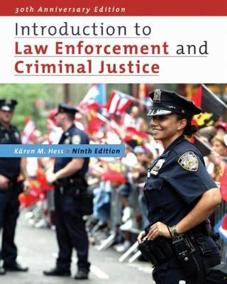 Introduction to Law Enforcement and Criminal Justice by Karen Hess image