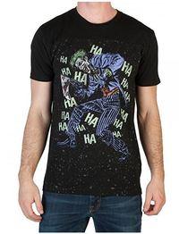 DC Comics: Joker Hahaha Yoke T-Shirt (Large)