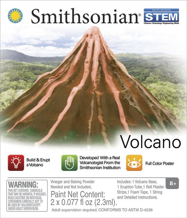 Smithsonian: Micro Science kits - Volcano