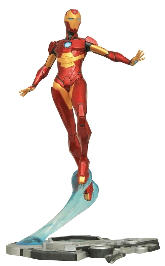 "Iron Man: Ironheart Marvel Gallery 11"" PVC Diorama Figure image"