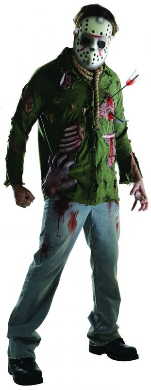 Friday the 13th: Jason Voorhees #1- Deluxe Costume (XL)