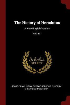 The History of Herodotus by George Rawlinson image