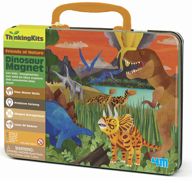4M: Thinking Kits Dinosaur Magnet Kit