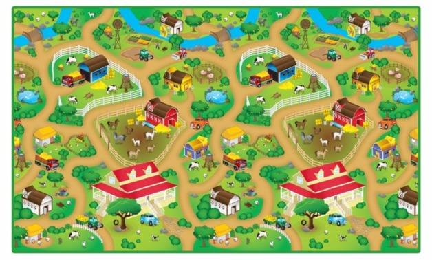 Rollmatz: Large Playmat - Farm Land