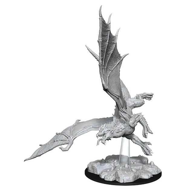 D&D Nolzur's Marvelous: Unpainted Miniatures - Young Green Dragon