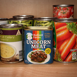 Canned Unicorn Meat image