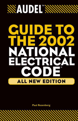 Audel Guide to the 2002 National Electrical Code by Jacob Rosenberg image