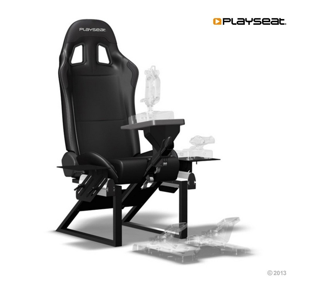 Playseat Air Force Flight Seat   Black For Image ...