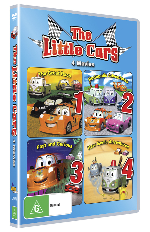 Little cars 1 4 box set dvd buy now at mighty ape for 1 1 2 box auto