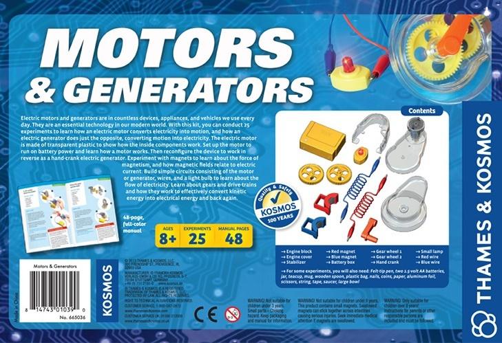 Motors Amp Generators Experiment Kit Toy At Mighty Ape