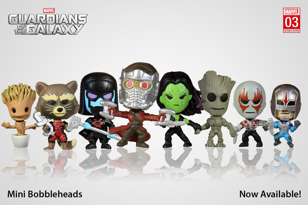 Guardians Of The Galaxy Collectible Mini Figure At