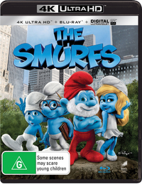 The Smurfs on Blu-ray, UHD Blu-ray, UV