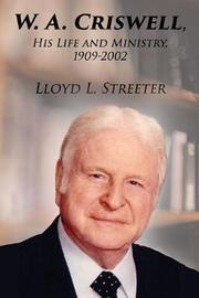 W. A. Criswell by Lloyd L Streeter image