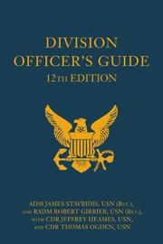 Division Officer's Guide by James Stavridis image