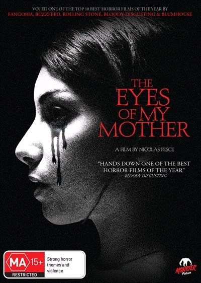 The Eyes of My Mother on DVD