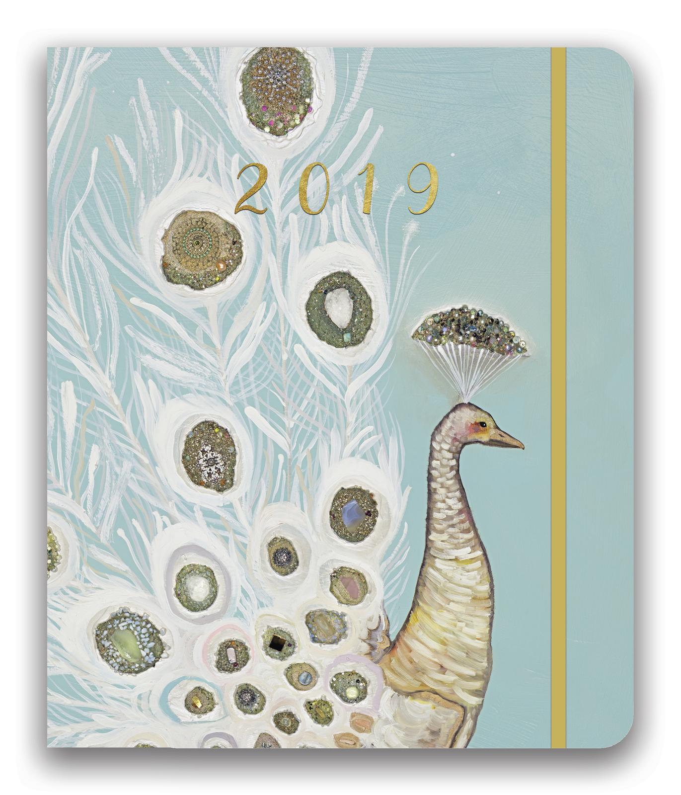 Hidden Agenda: Peacock 2019 Compact Diary image