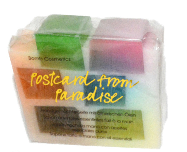Bomb Cosmetics: Postcards from Paradise Sliced Soap (100g)