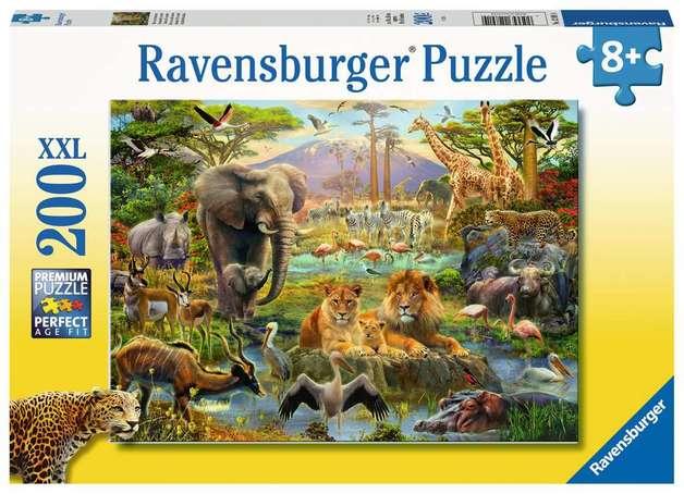 Ravensburger: 200 Piece Puzzle - Animals of the Savanna
