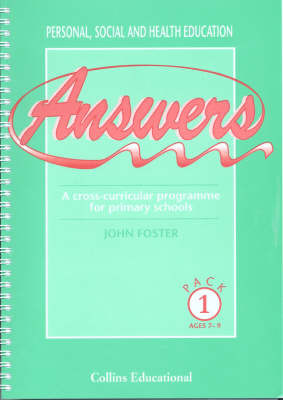 Answers: Pack 1 by John Foster image