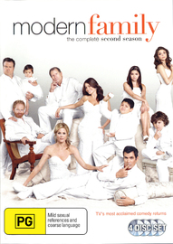 Modern Family - The Complete Second Season on DVD
