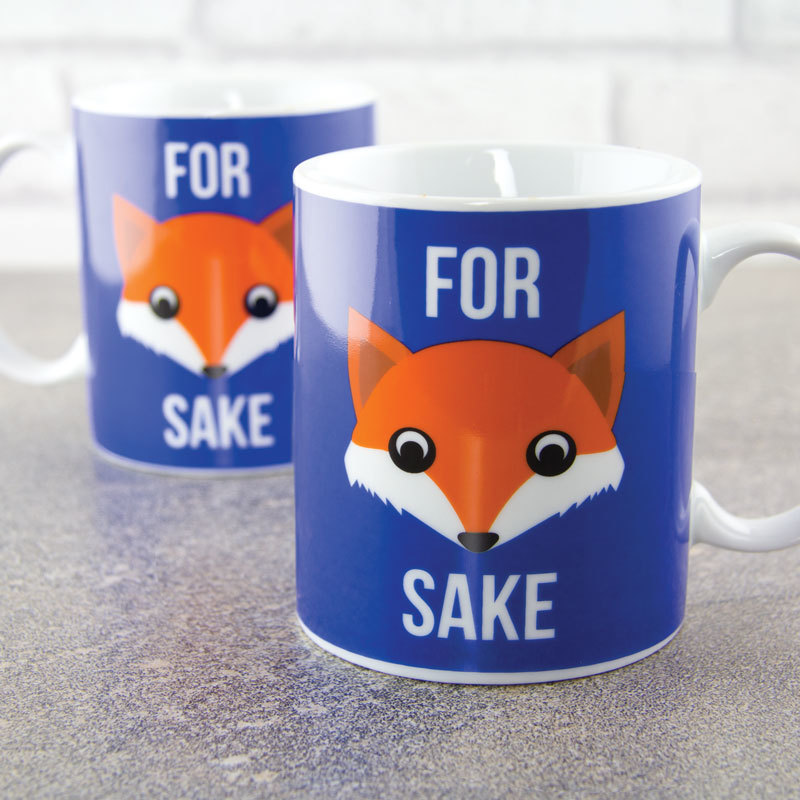 For Fox Sake Coffee Mug image