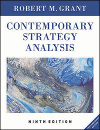Contemporary Strategy Analysis by Robert M Grant image