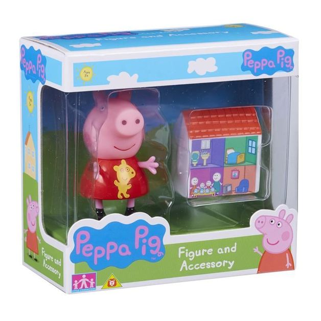 Peppa Pig: Figure and Accessory Pack - Peppa & House