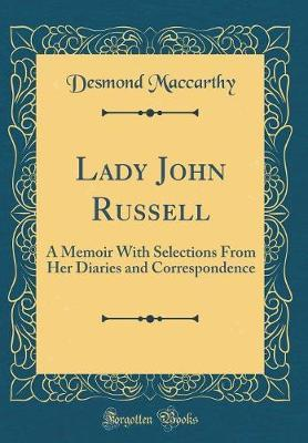 Lady John Russell by Desmond MacCarthy
