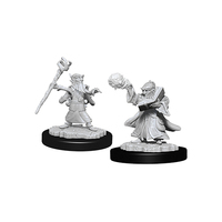 D&D Nolzurs Marvelous: Unpainted Miniatures - Male Gnome Wizard