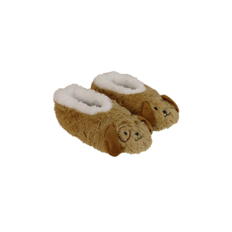 Slumbies Puppy Furry Foot Pals Slippers (S) image