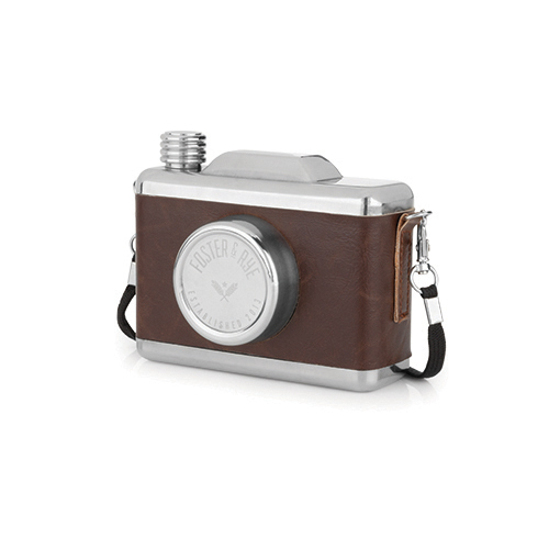 Foster & Rye - Stainless Steel Snapshot Flask