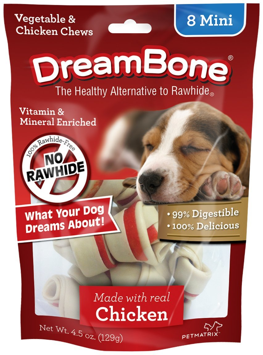 Dreambone Dog Treats 8's Mini Chicken 128g image