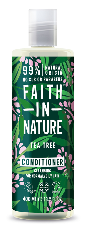 Faith In Nature: Tea Tree Conditioner for Normal/Oily Hair (400ml)
