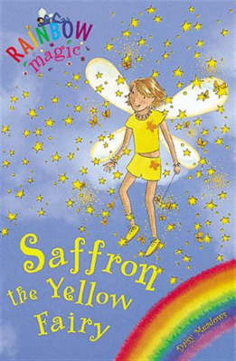 Saffron the Yellow Fairy by Daisy Meadows image