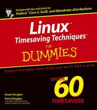 Fedora Timesaving Techniques For Dummies by Susan Douglas image