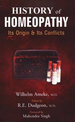 History of Homeopathy by Wilhelm Ameke image