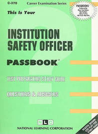 Institution Safety Officer