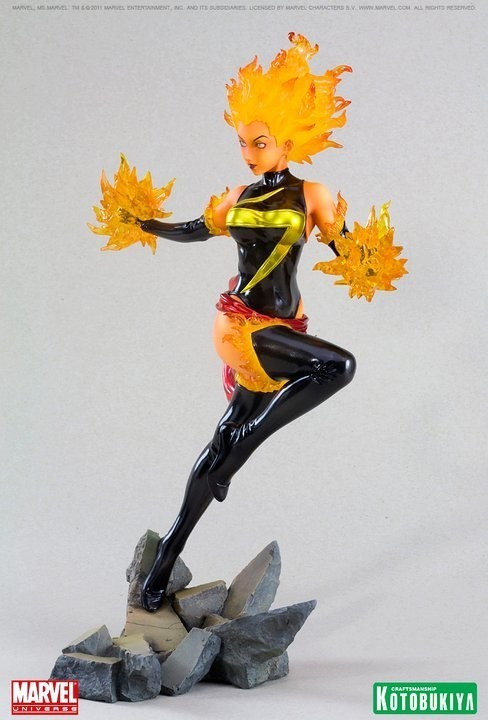 Ms. Marvel Bishoujo Binary Version 1:7 Figure (Comics Bishoujo series)