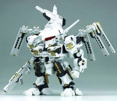 Armored Core For Answer Rosenthal CR-Hogire Noblesse Oblige D-Style Model Kit 1:72