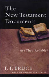 The New Testament Documents by Frederick Fyvie Bruce image