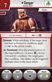 Star Wars: Imperial Assault: Dengar Villain Pack