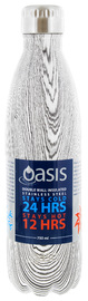 Oasis Insulated Stainless Steel Water Bottle - Driftwood (750ml)