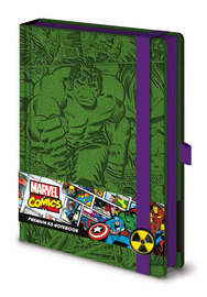 Marvel Comics Premium Notebook (Retro Hulk, A5)